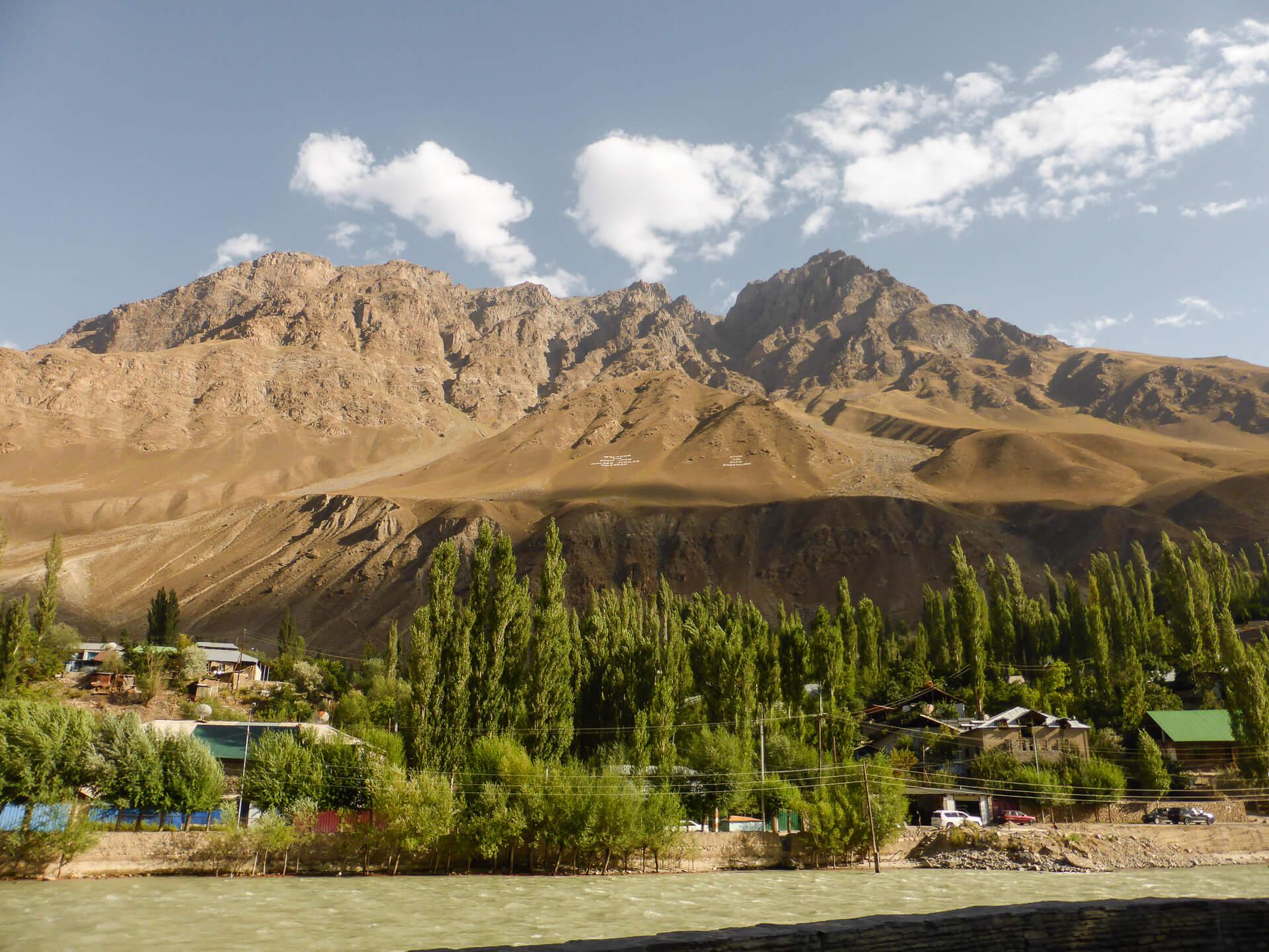 Pamir Highway Khorog city