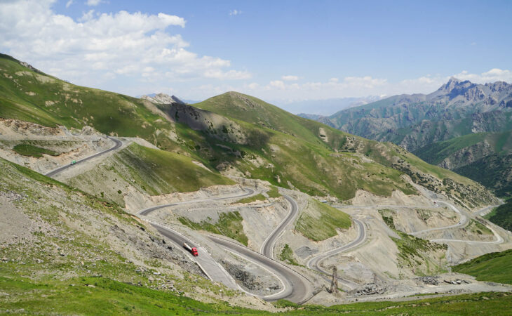 Taldyk Pamir Highway Pass