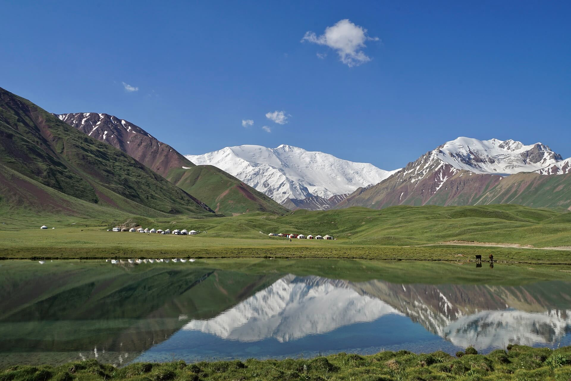 Pamir Highway tour at Tulparkul lake