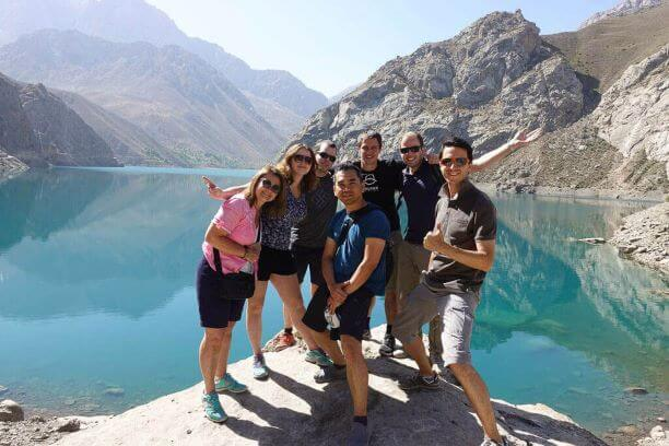 Tajikistan tour at Iskander Kul lake