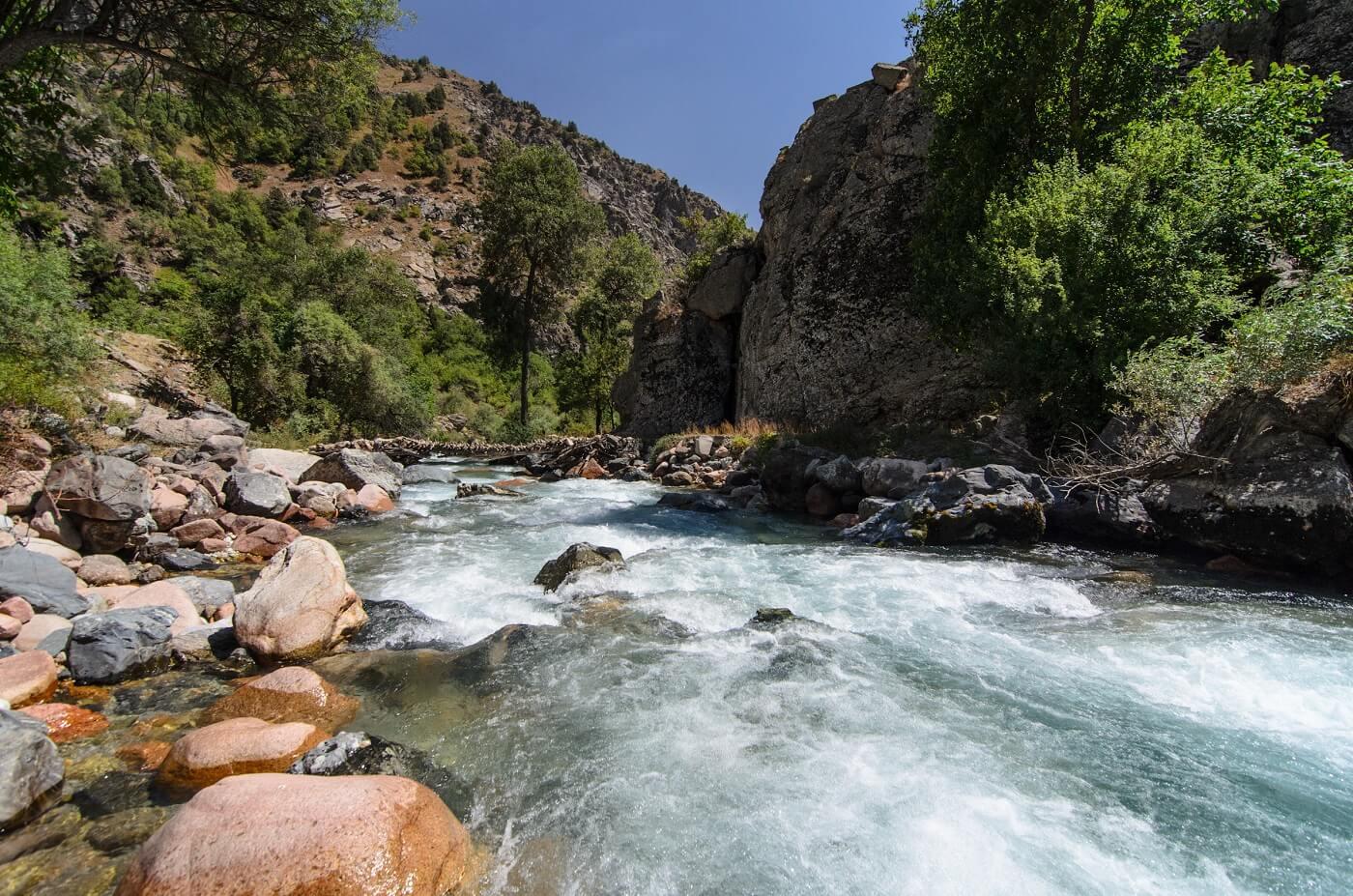 Duoba trekking Tajikistan