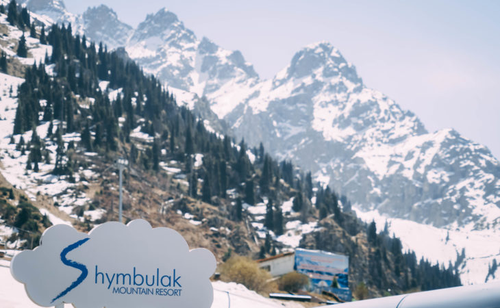 Shymbulak ski resort, a day tour from Almaty