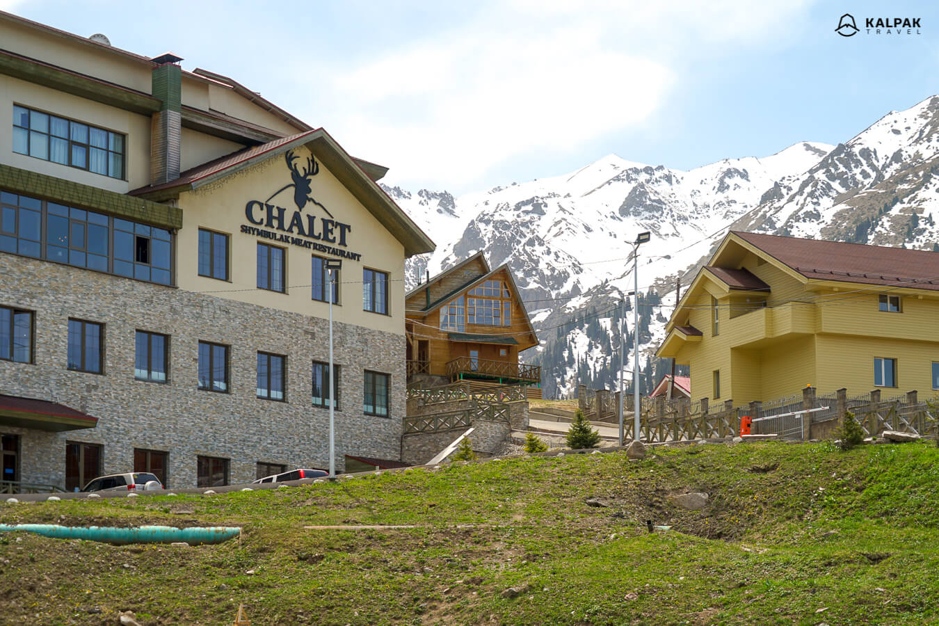 Shymbulak resorts in Almaty