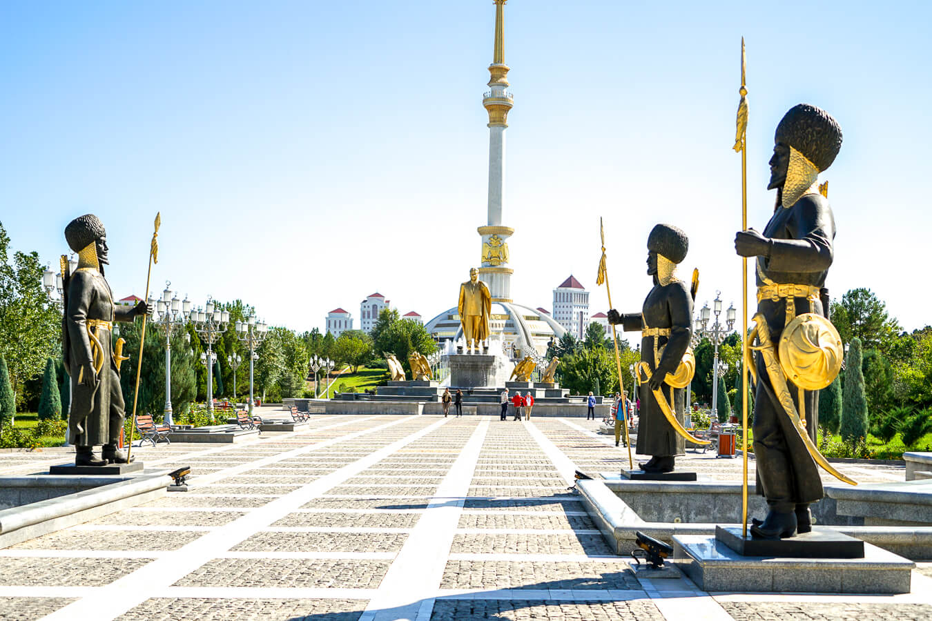 Ashgabat is the capital of Turkmenistan