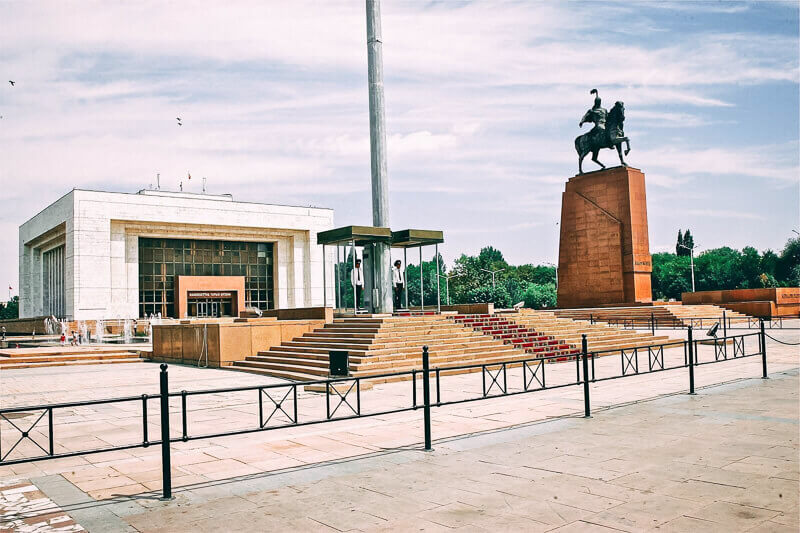 Central Asia tour in Bishkek