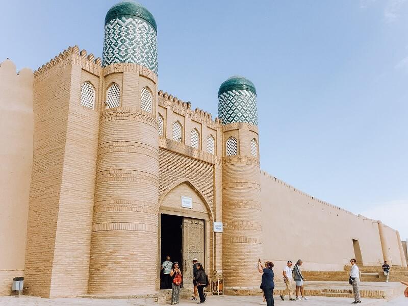 Khiva palace