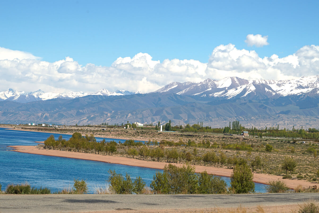Issyk Kul lake in Central Asia