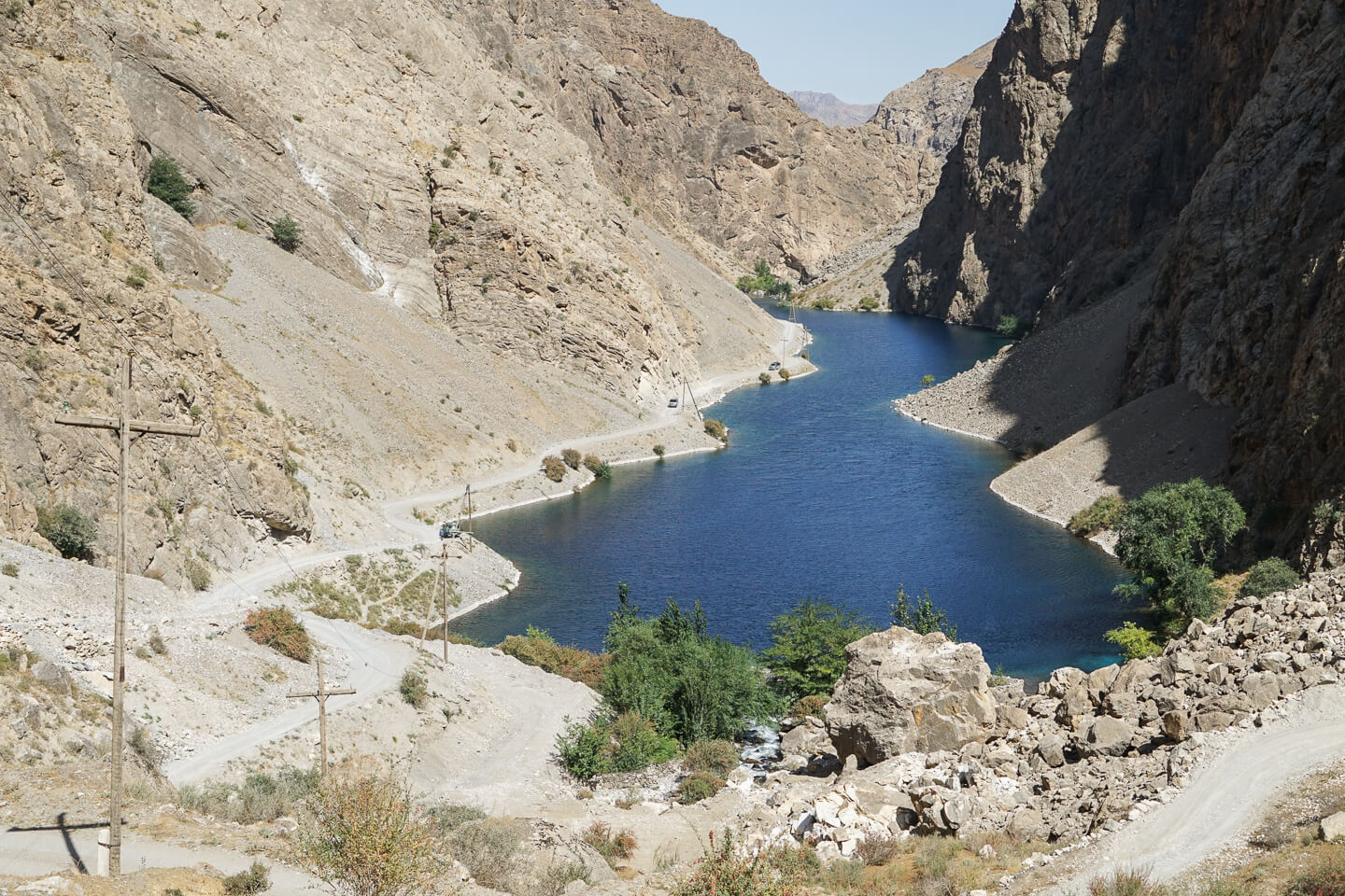 Seven Lakes in Fan mountains of Tajikistan