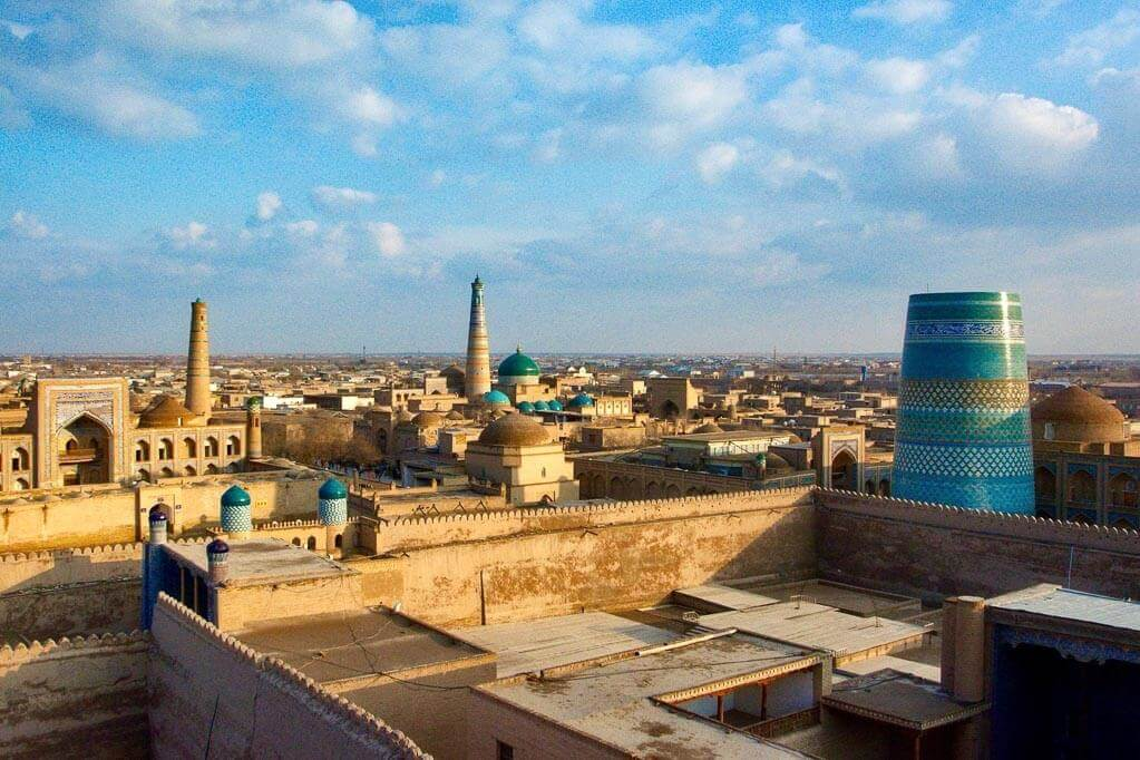 Central Asia tour in Khiva