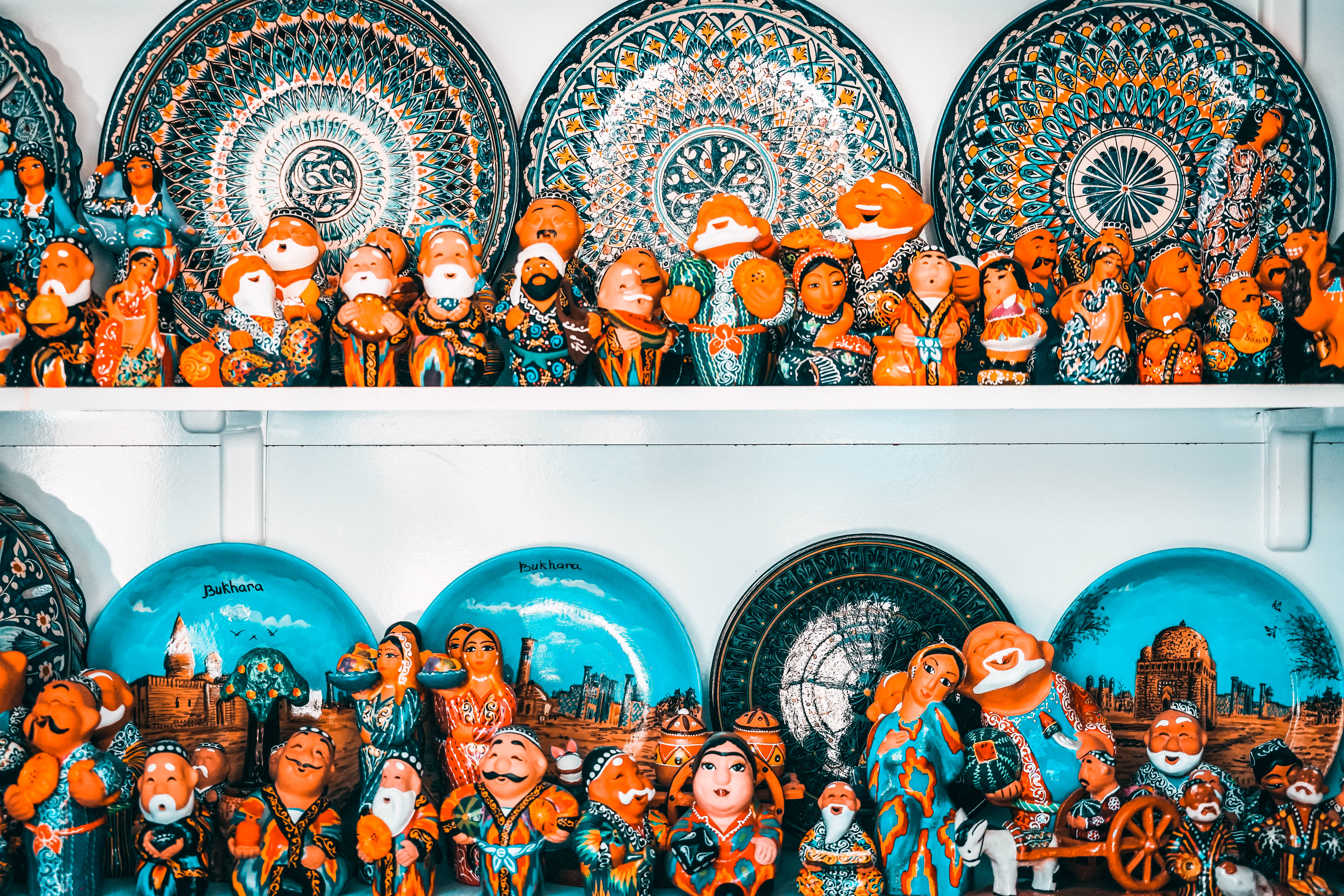 Central Asia souvenirs from festivals