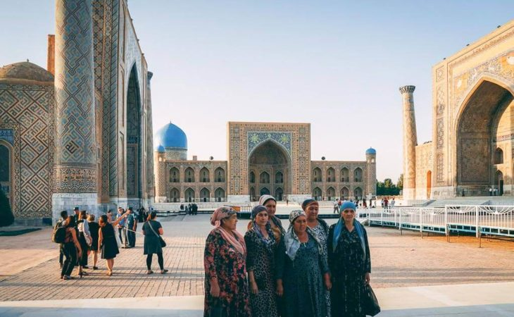 Central Asian people spotted on our tours