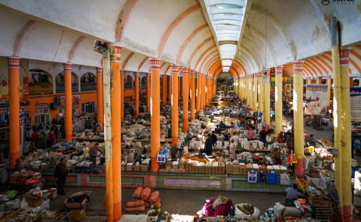 Khujand bazaar