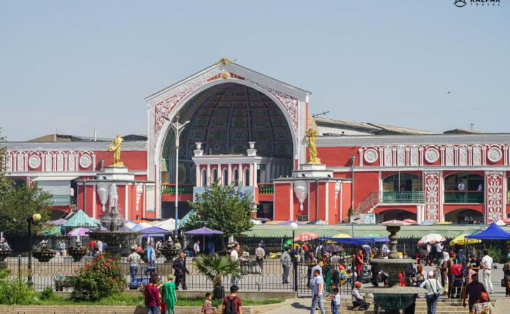 Khujand city in Tajikistan