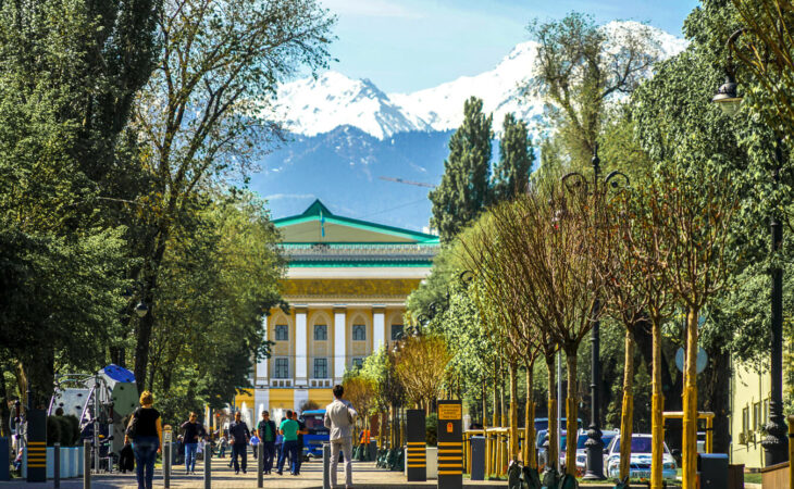 Almaty in Kasachstan
