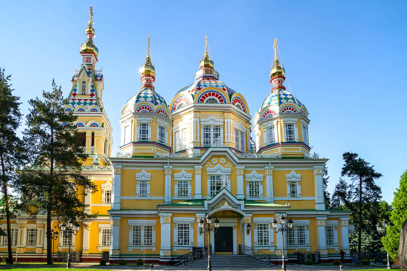 Zenkov Kirche in Almaty