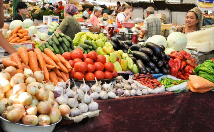vegetables in Kyrgyzstan