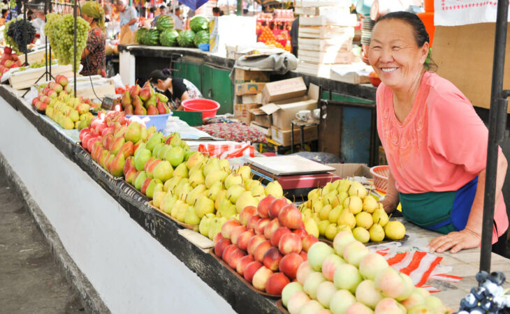 central asia bazaar