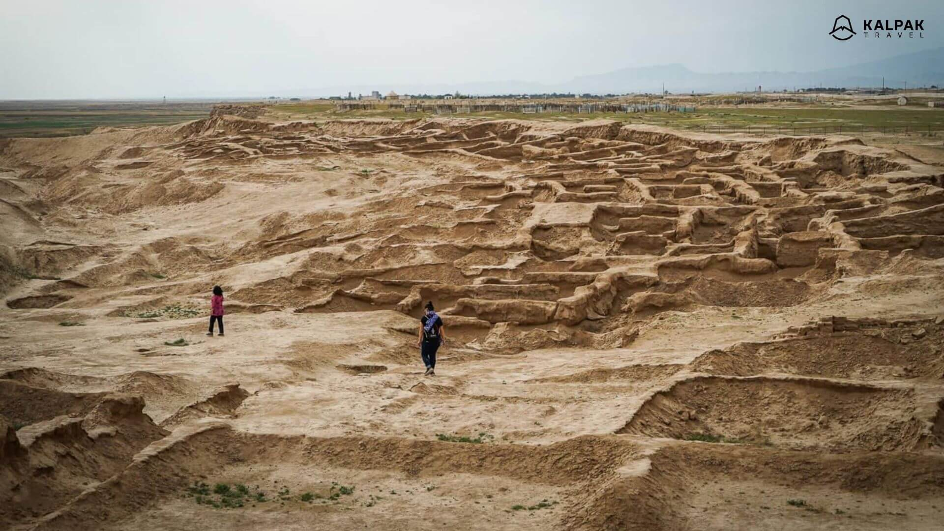Termez has ancient ruins in Uzbekistan