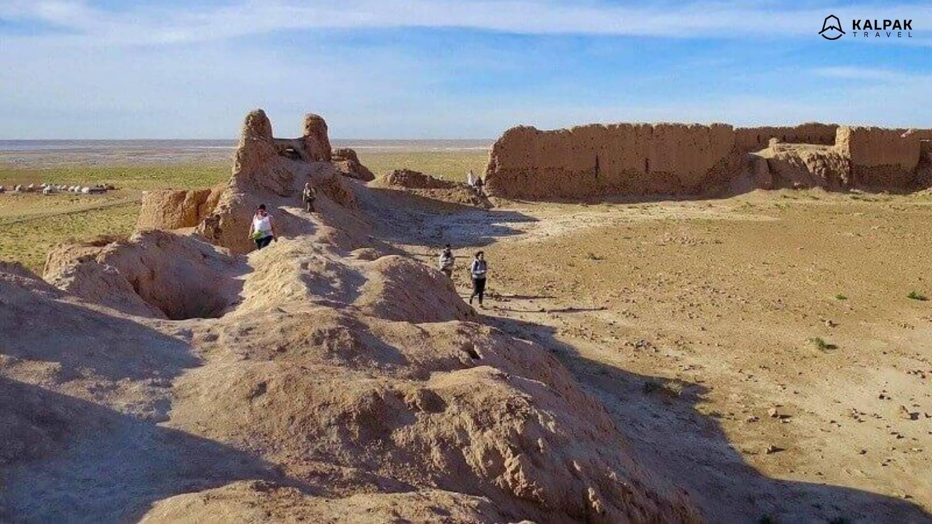 Ancient Khorezm fortresses in Uzbekistan