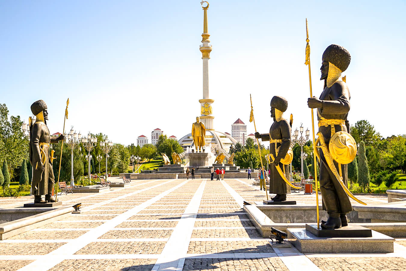 Aschgabat Hauptplatz Turkmenistan