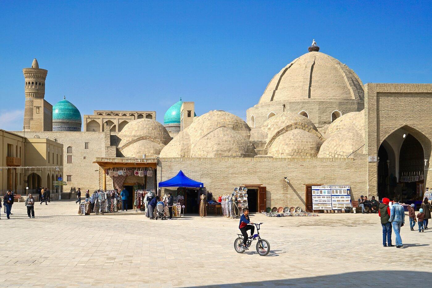Buchara in Usbekistan, Zentralasien