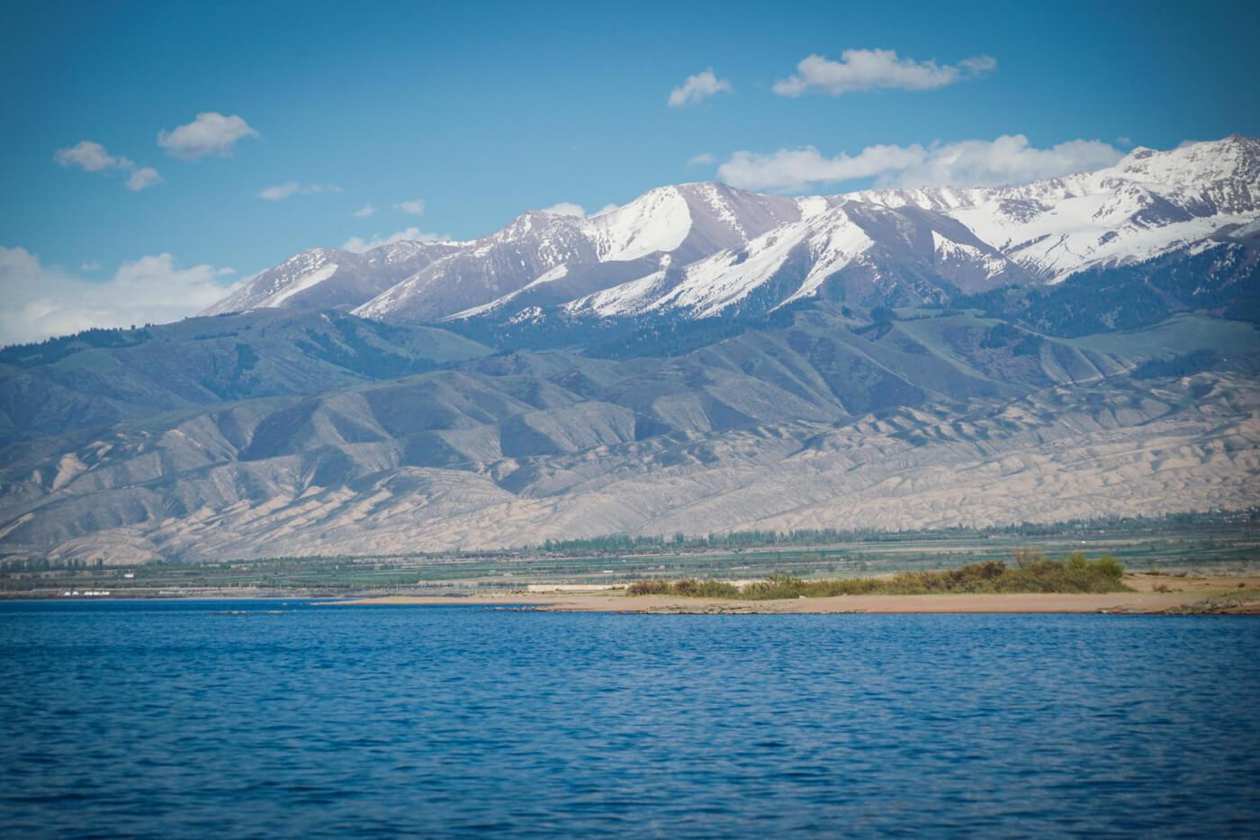 Issyk Kul see in Kirgistan