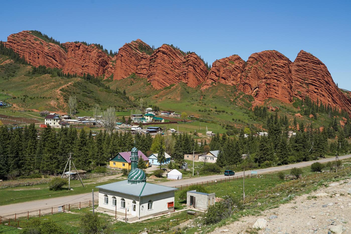 Jeti Oguz in Kirgistan