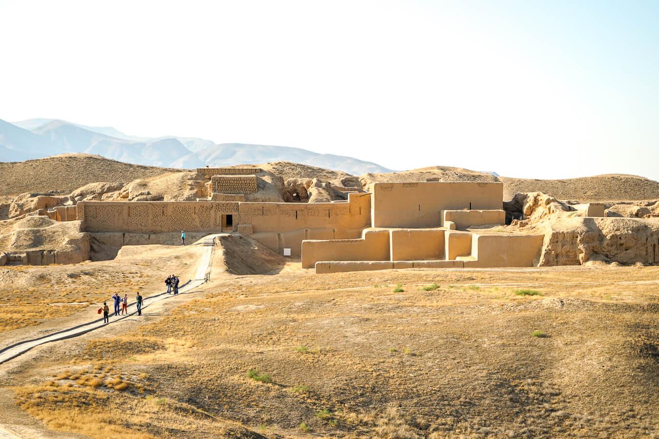 Nisa Ausgrabungen in Turkmenistan