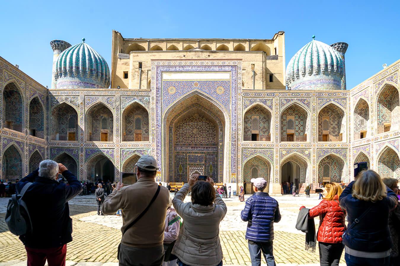 Zentralasien Reise in eine Gruppe