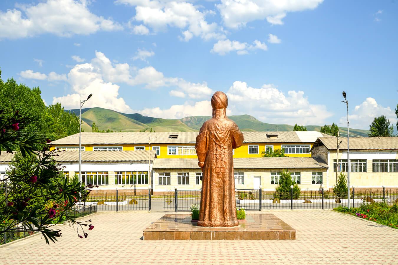Kurmanjan Datka musuem in Alay, Kyrgyzstan