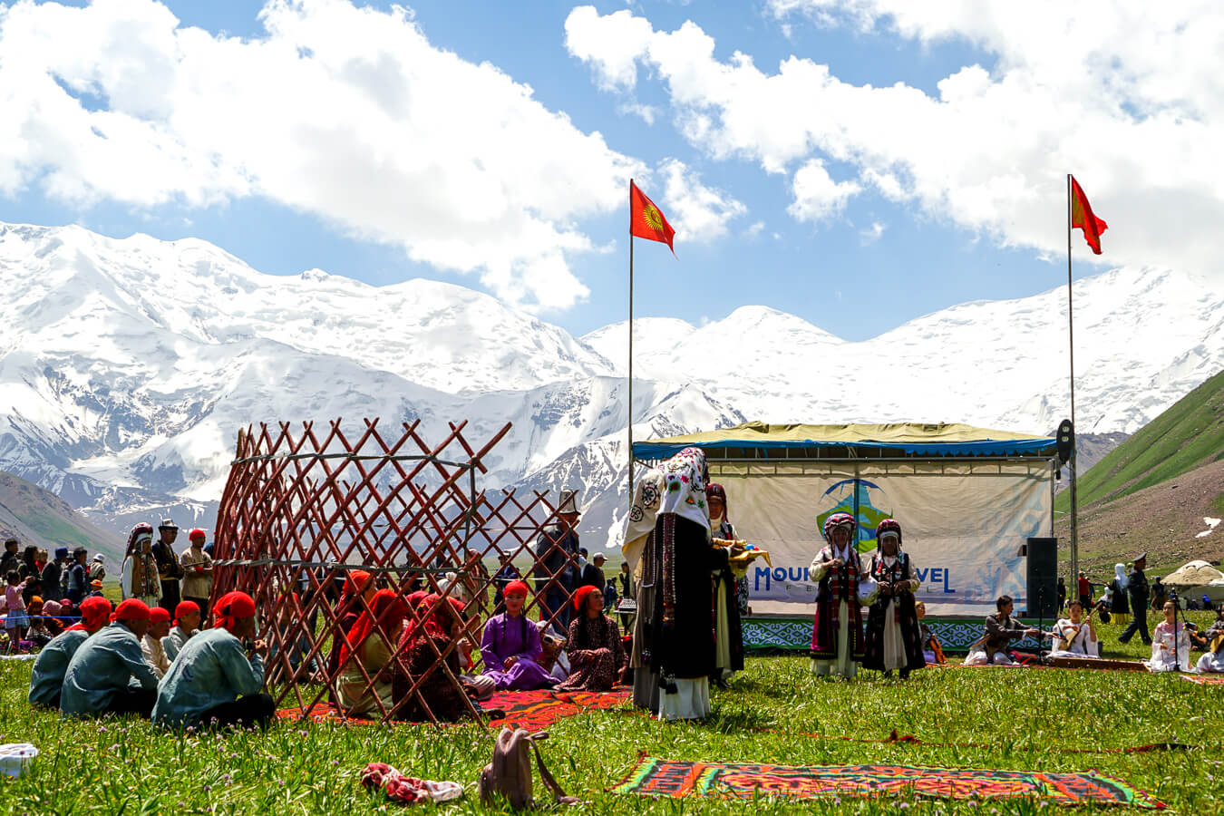 Mountain travel festival in Alay