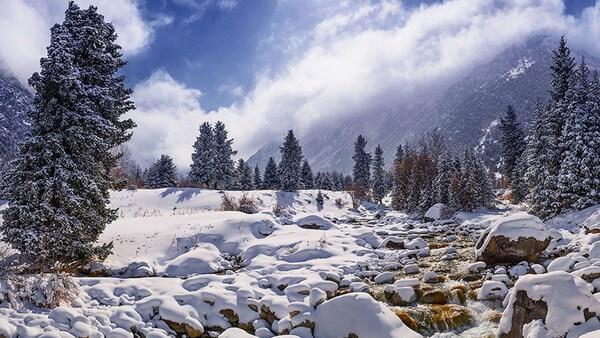 Ala Archa winter tour in Kyrgyzstan
