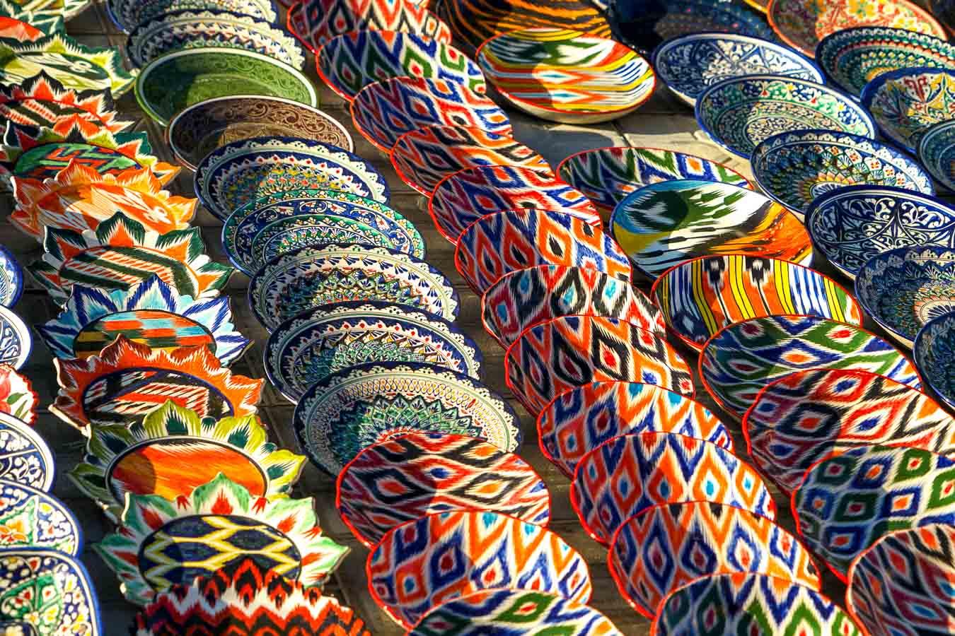 pottery Uzbekistan