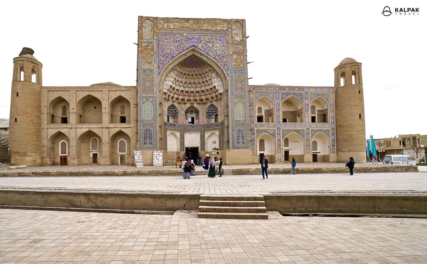 Abdulaziz Khan in Bukhara