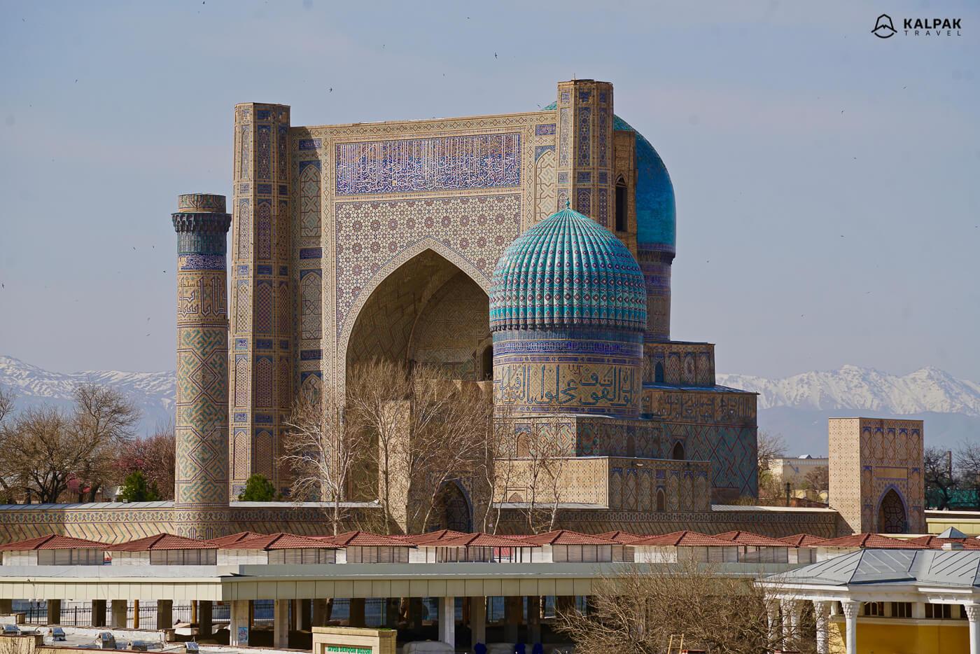 Bibi Khanum Moschee in Samarkand