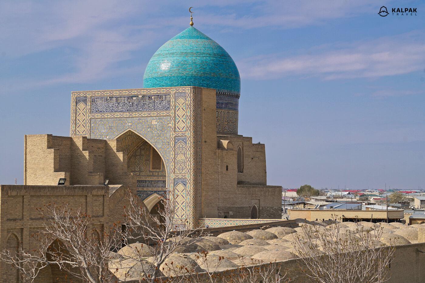 Buchara ist ein Islamische Seidenstrasse stadt