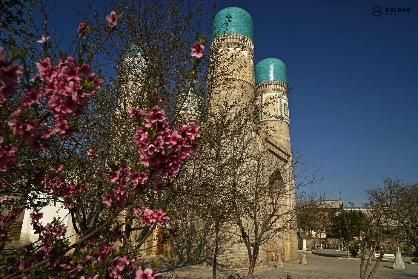Tschor Minor Moschee in Buchara