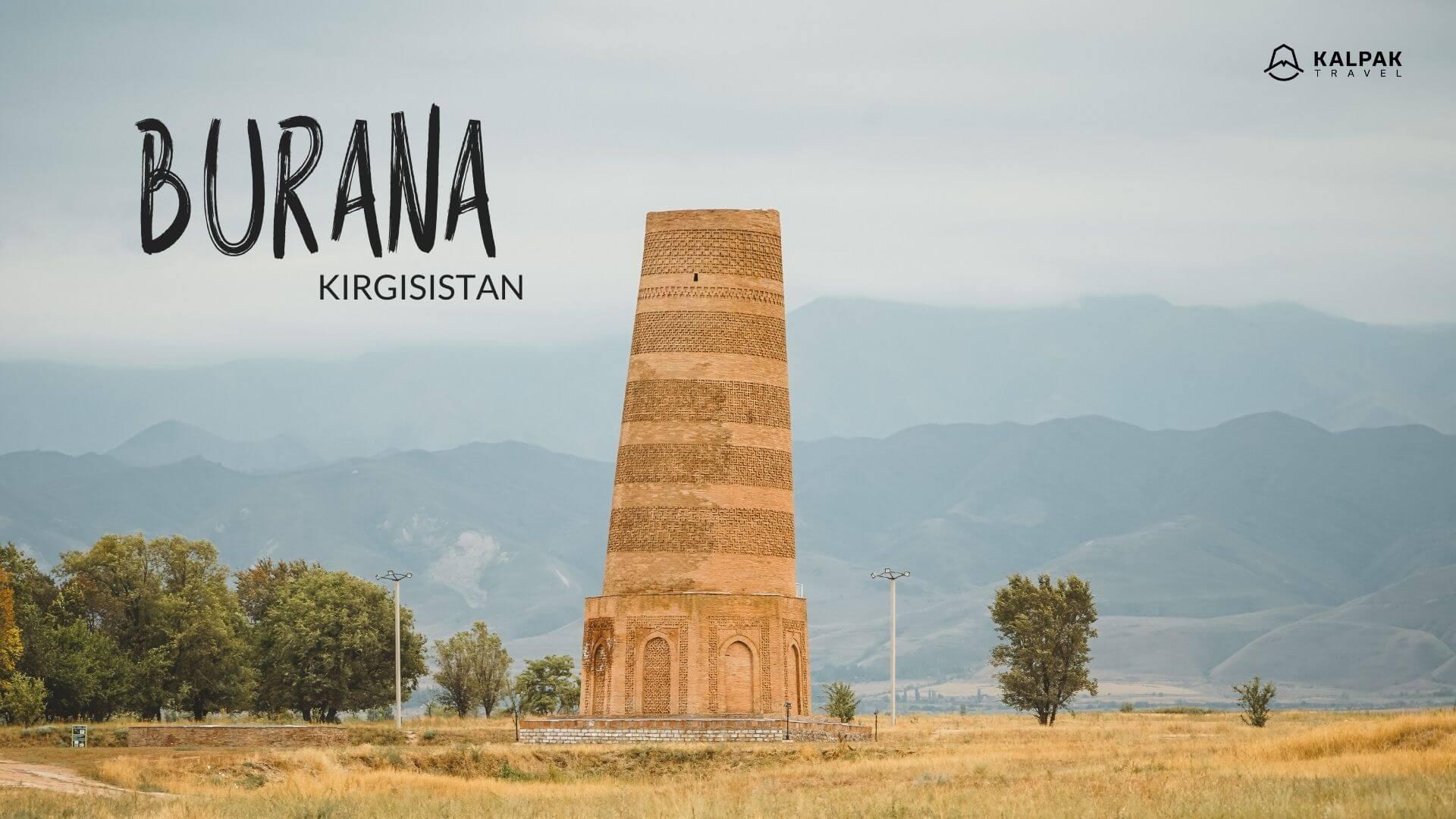 Burana in Kirgisistan