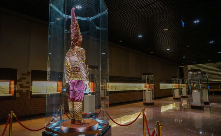 National Museum of Kazakhstan with its Golden Man