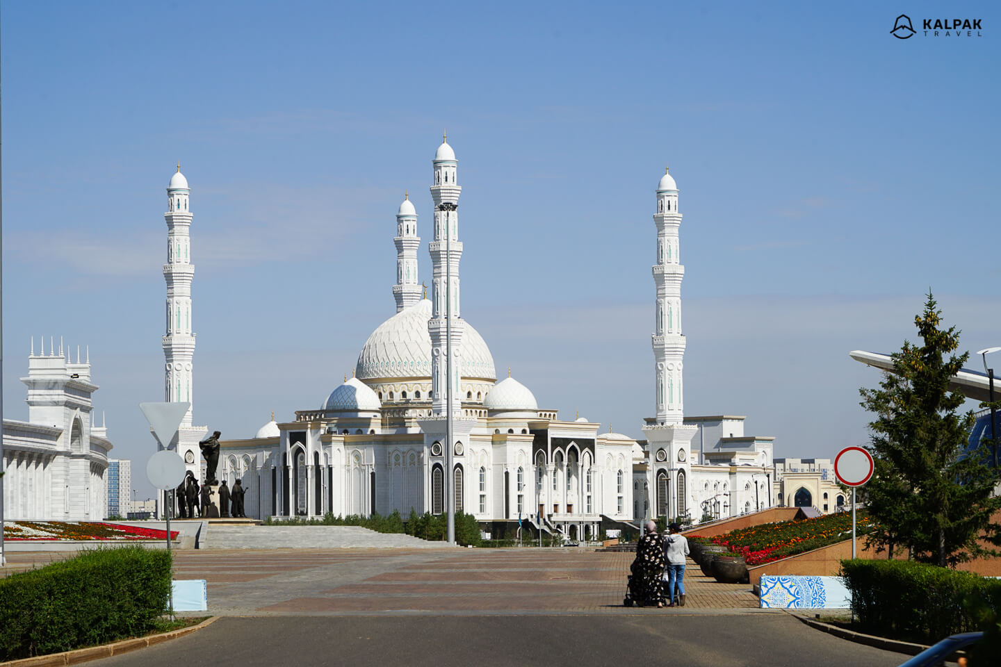 Khazret Sultan mosque in Nur-Sultan