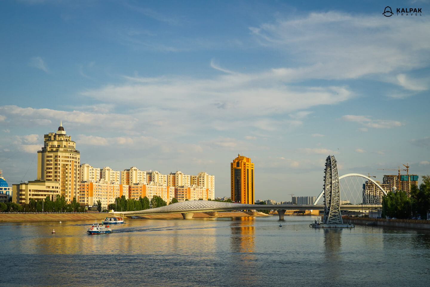 River Cruise on Esil River in Nur Sultan