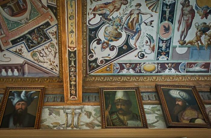 Tamerlane in Uffizi Gallery