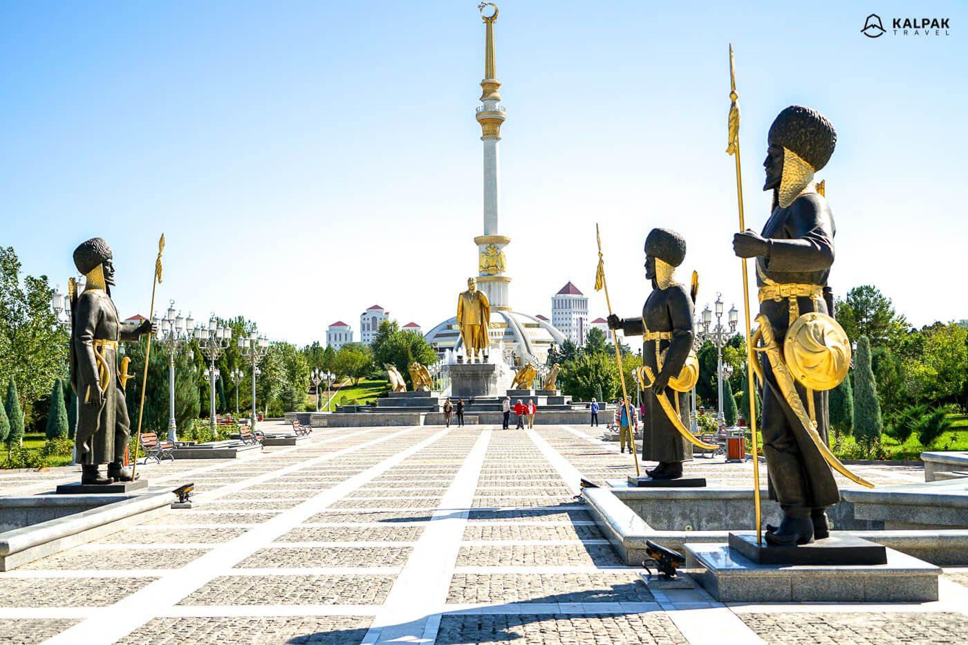 Ashgabat sightseeing highlights