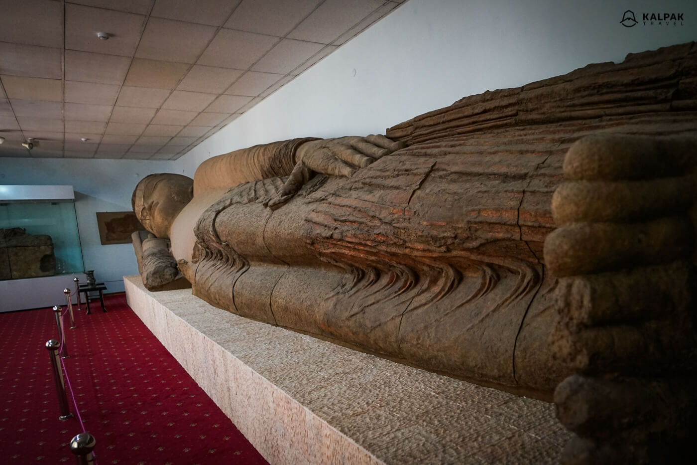 Buddha from Ajina Tepe in Dushanbe Antiquities museum