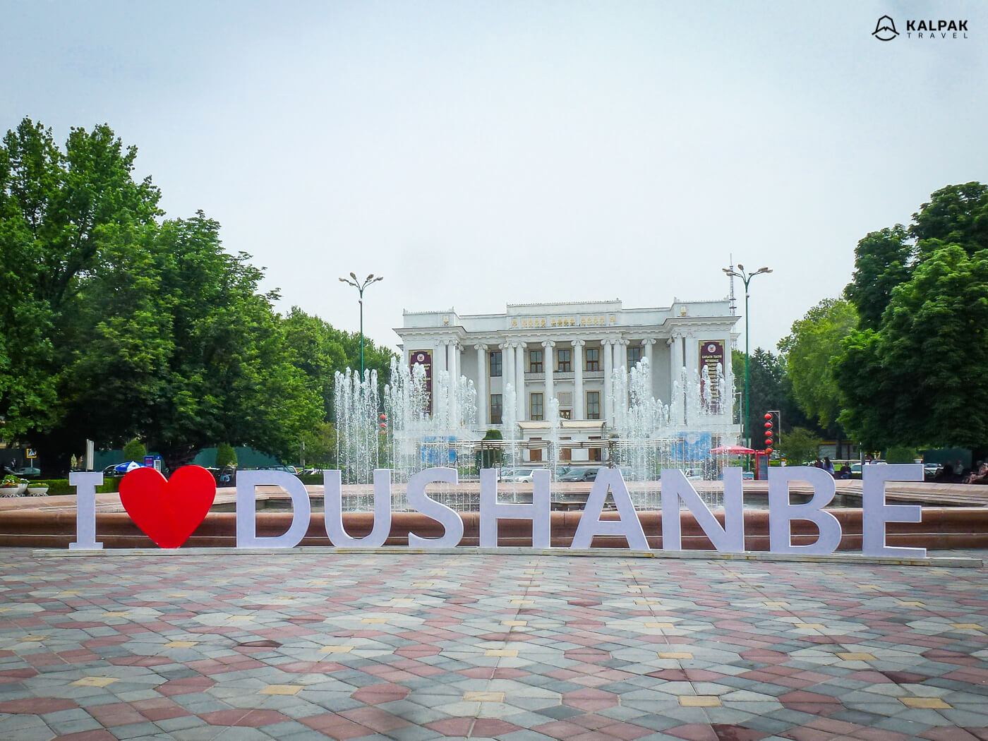 Opera & Ballet theatre of Dushanbe