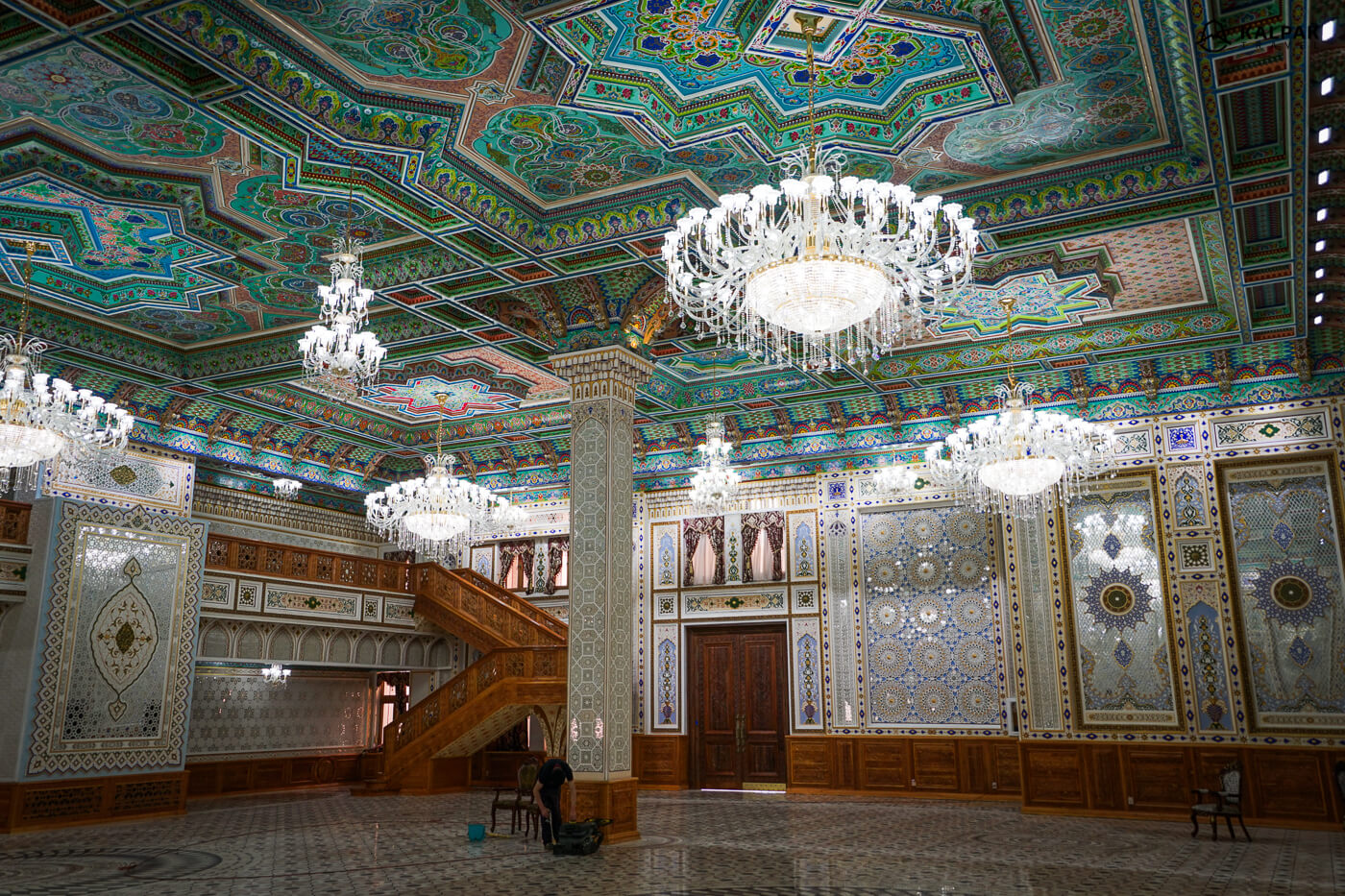 Navruz Palace in Dushanbe