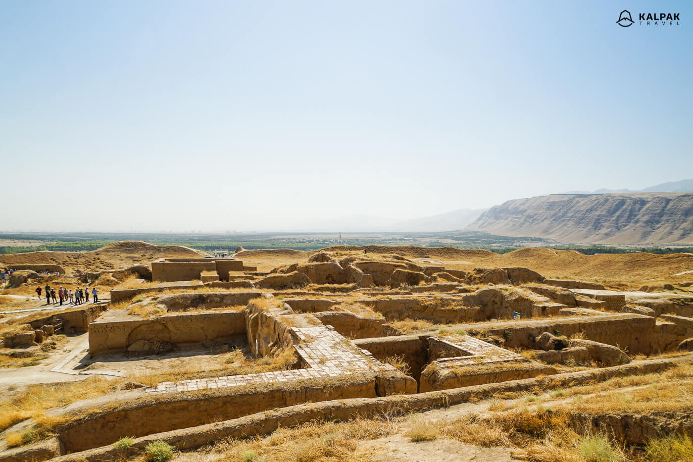 ancient ruins of Old Nisa near Ashgabat
