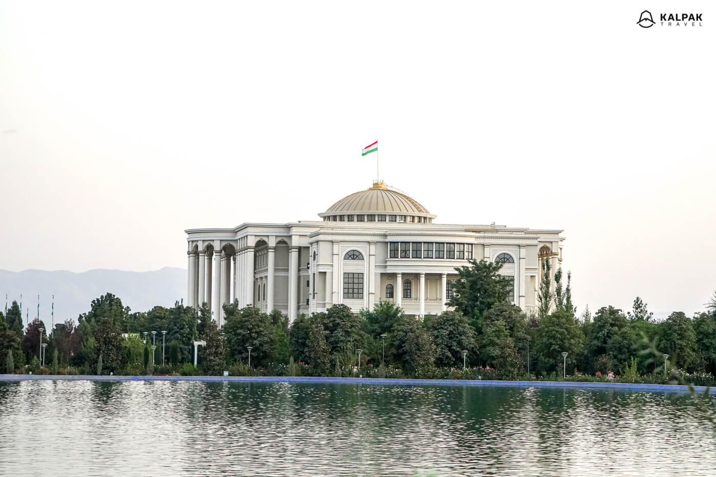 Presidential palace in Dushanbe