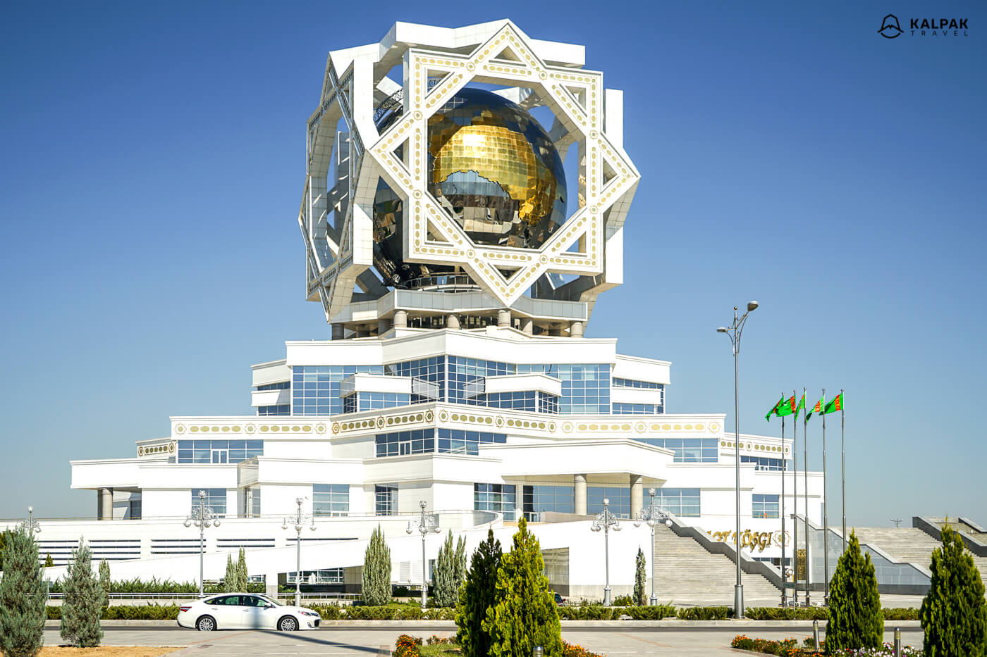 Wedding Palace in Ashgabat