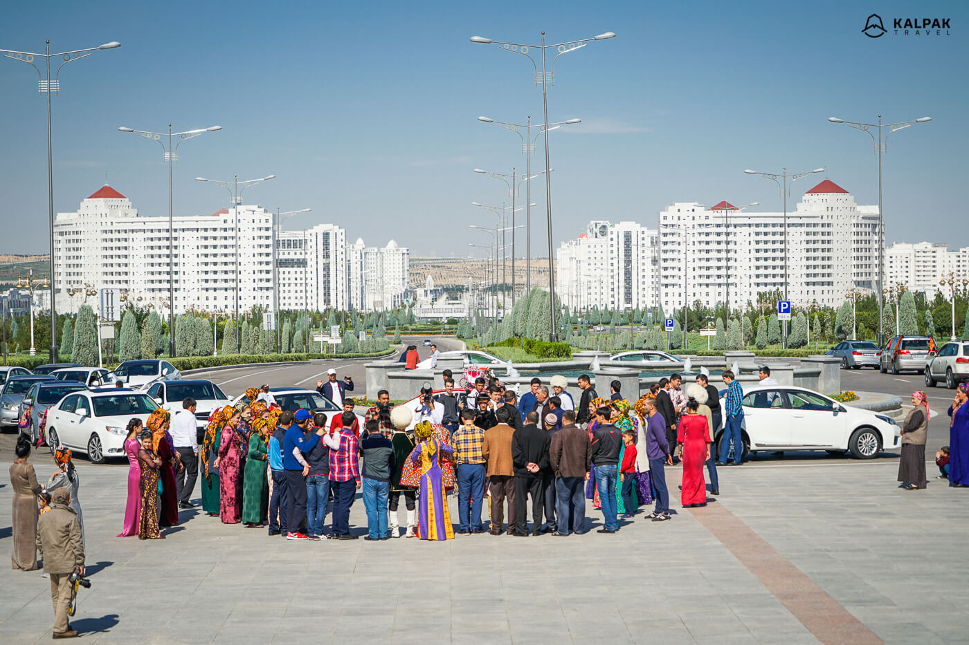 Wedding party in Ashgabat